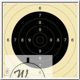 Spiegel Pistole 25/50m, BDS-Spiegel für Gewehr 100m