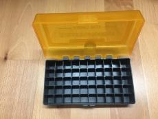 Munitionsbox für 50 Schuß, Kaliber .44Mag,.44 Special oder 45 Colt