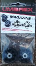 2 Stk. Umarex Trommelmagazine 8-Schuß für Hämmerli 850 AirMagnum & Walthjer 1250 Dominator