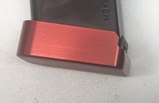 Aluminium Magazinboden Sig Sauer Rot