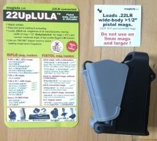 22Uplula Magazinladehilfe für Pistolenmagazine im Kalber .22 lfb für doppelreihige Magazine