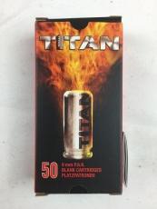 Platzpatronen 9mm P.A.K. (.380) Titan 50 Stück für Pistolen