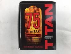 Platzpatronen 9mm P.A.K. (.380) Titan 75 Stück für Pistolen