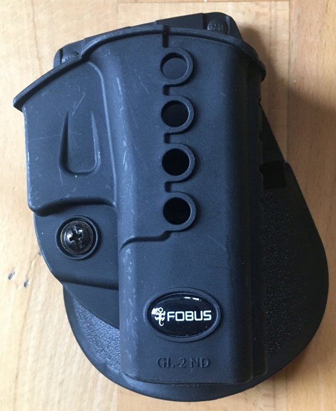 Fobus Paddle Holster Gl 2nd Für Glock 17 19 22 23 31 32 34 35 Walther Pk 380 Kahr Cw40 Cm40 P40 Pm40 P45