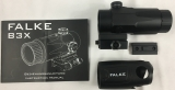 Magnifier Falke B3X, Ideale Ergänzung für Ihren Red Dot. IPSC, BDMP