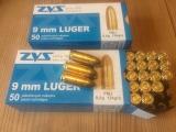5.000 Stk. 9mm Para / Luger von ZVS 124 grain RN