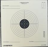 Umarex Zielscheiben für Luftgewehr, 10 Meter, 14 x 14 cm