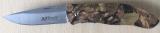 MTech USA Klappmesser mit Griffschalen in camouflage Design