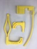 Trio! Je eine Sicherheitsfahne für Pistole, Büchse und Flinte.  Ideal für IPSC und BDMP Disziplinen.