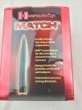 250 Stk. Hornady Match #305016 .308 Dia 168 grain BTHP
