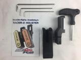 DAA Racer-X Holster für Shadow 2 in Silber