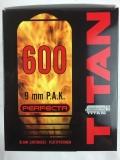 Platzpatronen 9mm P.A.K. (.380) Titan 600 Stück für Pistolen